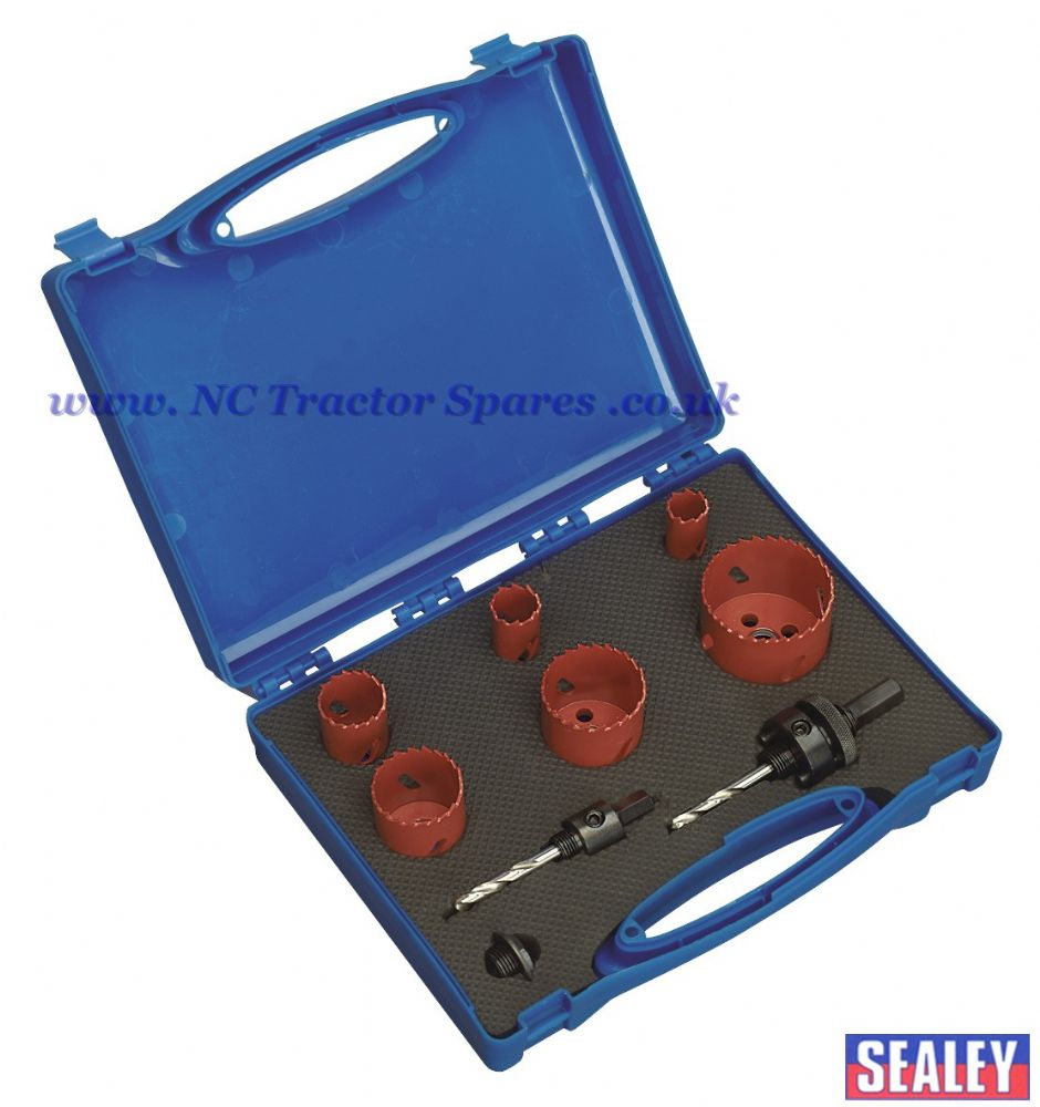 Hole-Saw Kit Plumber's 9pc